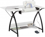 Sew Ready Comet Sewing Table Multipurpose/Sewing Desk Craft Table Sturdy Computer Desk $79.83 (REG $149.99)