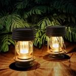 LIGHTNING DEAL!!! pearlstar Hanging Solar Lights Outdoor$18.39 (REG $23.99)