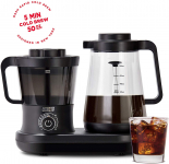 Dash Cold Brew Coffee Maker With Easy Pour Spout Carafe Pitcher, Black $61.07 (REG $129.99)