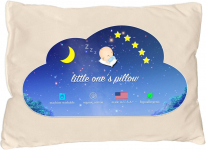 Little One's Pillow – Toddler Pillow, Organic Cotton Shell, HandCrafted in USA$22.95 (REG $59.95)