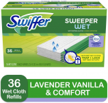 Swiffer Sweeper Wet Mopping Cloth Multi Surface Refills, $8.34 (REG $12.99)