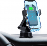 FITFIRST Wireless Car Charger Mount, Auto Clamping 7.5W /10W Fast Charging $9.10 (REG $19.99)