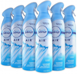 Febreze Air Freshener and Odor Spray, Linen & Sky Scent, 8.8 Oz, 6 Pack $13.49 (REG $19.74)