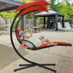 Patio Chair Hammock and Stand Lounge Chair Hanging Porch Swing $139.99 + $10.00 shipping (REG $249.99)