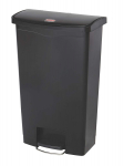 Rubbermaid Commercial Products Slim Jim Step-On Plastic Trash/Garbage Cans $89.99 (REG $181.90)