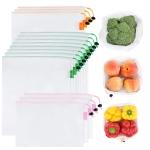 GOGOODA 15 Pcs Premium Reusable Produce Bags $9.34 (REG $30.99)