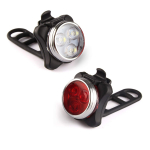 Ascher USB Rechargeable Bike Light Set $9.98 (REG $20.00)
