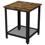 IRONCK End Tables Living Room, Side Table with Storage Shelf $39.99 (REG $99.99)