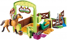 PLAYMOBIL Spirit Riding Free Lucky & Spirit with Horse Stall Playset, Multicolor $9.99 (REG $21.99)