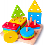 Rolimate Educational Toys Toddler Toy for 1 2 3 4+ Years Old Boy Girl $11.04 (REG $29.99)