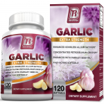 BRI Nutrition Odorless Garlic – 120 Softgels $12.87 (REG $39.97)
