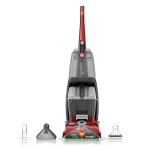 Hoover Power Scrub Deluxe Carpet Cleaner Machine, Upright Shampooer, $99.00 (REG $219.99)