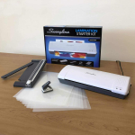Inspire Laminator, Pouches, Trimmer, Mini Hole Punch Included (1701869ECR)$24.50 (REG $54.09)