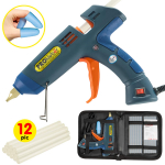 Hot Melt Glue Gun Kit 100 Watt with Carry Bag and 12 pcs Glue Sticks $25.99 (REG $56.95)
