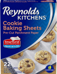 Reynolds Kitchens Non-Stick Baking Parchment Paper Sheets 22 Count $3.34 (REG $5.89)