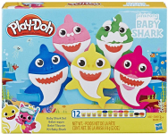 Play-Doh Pinkfong Baby Shark Set with 12 Non-Toxic Cans $9.96 (REG $14.99)