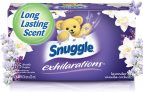 Snuggle Exhilarations Fabric Softener Dryer Sheets $4.46 (REG $8.99)
