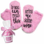 Luxury Wine Socks with Cupcake Gift Packaging $9.99 (REG $24.99)