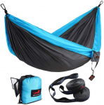 HONEST OUTFITTERS Double Camping Hammock with Hammock Tree Straps$23.69 (REG $70.00)