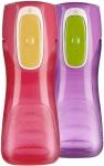 Contigo AUTOSEAL Trekker Kids Water Bottles, 14 oz, Cherry Blossom & Amethyst, $7.19 (REG $11.99)