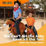 WALIKI Horse Hopper Ball for Kids $39.99 (REG $79.99)