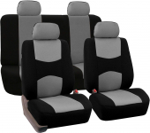 FH Group Universal Fit Full Set Flat Cloth Fabric Car Seat Cover$26.04 (REG $69.99)