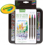 Crayola Brush Markers, Dual-Tip with Ultra Fine Marker, 32 Colors $9.39 (REG $13.99)