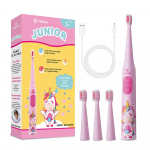 Vekkia Sonic Rechargeable Kids Electric Toothbrush, 3 Modes Fun & Easy Cleaning, $19.99 (REG $35.99)