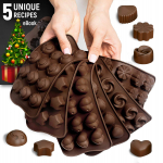 Silicone Candy Molds + 5 Recipes eBook – 6 Pack $10.95 (REG $24.99)