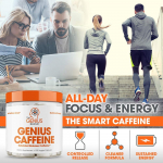 LIGHTNING DEAL!!! Genius Caffeine, Extended Release Microencapsulated Caffeine Pills $7.35 (REG $14.99)