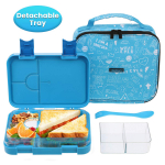 School Lunch Container for Girls Boys with Insulated Bag Spoon Fork $23.79 (REG $49.99)