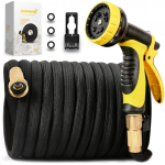 [New Double Strength Flexible]Expandable Garden Hose 100ft $24.29 (REG $55.73)
