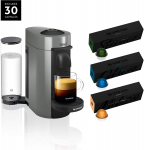 Nespresso VertuoPlus Coffee & Espresso Machine Bundle by De'Longhi $99.99 (REG $212.00)