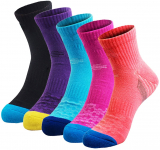 Veatree 5 Pairs Women's Hiking Socks $17.99 (REG $39.99)