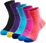 Veatree 5 Pairs Women's Hiking Socks$17.99 (REG $39.99)