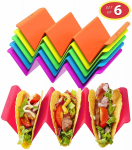 LIGHTNING DEAL!!! Colorful Taco Holder Stands Set of 6 $10.19 (REG $12.99)