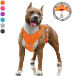 BARKBAY No Pull Dog Harness Large Step in Reflective Dog Harness with Front Clip $18.69 (REG $43.99)