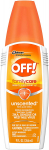 OFF! FamilyCare Insect Repellent IV, Unscented, 9 oz, 1 ct $4.00 (REG $7.49)