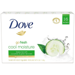 Dove Beauty Bar Bath Soap for Dry Skin Cool Moisture Cucumber and Green Tea $15.39 (REG $25.09)