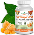 Organic Ashwagandha Capsules with Black Pepper $14.95 (REG $39.99)