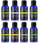 Radha Beauty Aromatherapy Top 8 Essential Oils 100% Pure & Therapeutic Grade $14.95 (REG $26.57)