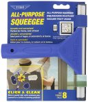 All Purpose Window Squeegee with Lifetime Silicone Rubber Blade $4.33 (REG $11.22)