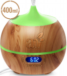 Essential Oil Diffuser and Humidifier with Bluetooth Speaker Clock $19.95 (REG $34.95)