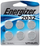 Energizer CR2032 Batteries, 3v Lithium 2032 Watch Battery, (6 Count) $4.99 (REG $14.99)
