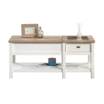 Sauder Cottage Road Lift-top Coffee Table Soft White finish $118.00 (REG $254.99)
