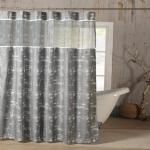 Kensie Ella Mildew Resistant Fabric Shower Curtain Liner Waterproof $11.73 (REG $26.99)