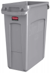 Rubbermaid Commercial Products Slim Jim Plastic Rectangular Trash/Garbage Can $39.95 (REG $66.52)