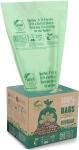UNNI ASTM D6400 100% Compostable Trash Bags, 2.6 Gallon, 9.84 Liter, $11.95 (REG $19.95)