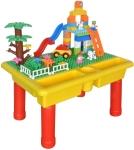 Large Toy Building Bricks & Play Table $29.24 (REG$44.99)