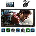 CACA Double Din Car Stereo Receiver 7 Inch Touchscreen in Dash $44.99 (REG $119.00)